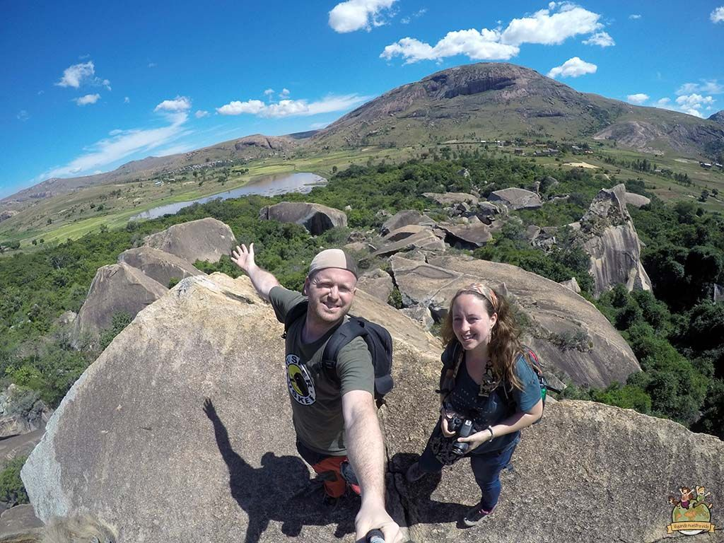 Mirador Reserva de Anja. viajar a Madagascar