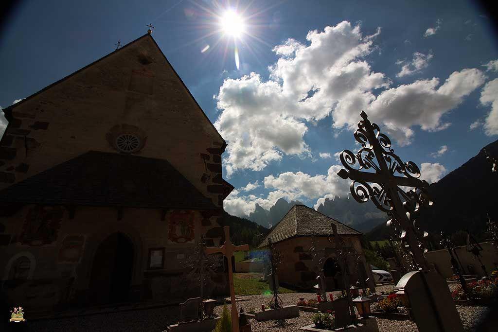 Iglesia St Magdalena val di Funes