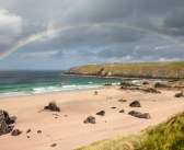 Frío, paisajes y arco iris: Escocia