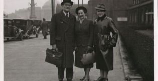Opi y sus padres, escapando del horror nazi. Destino Bolivia.