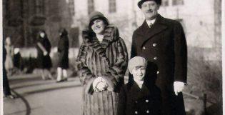 Mi abuelo y sus padres cuando el era chico