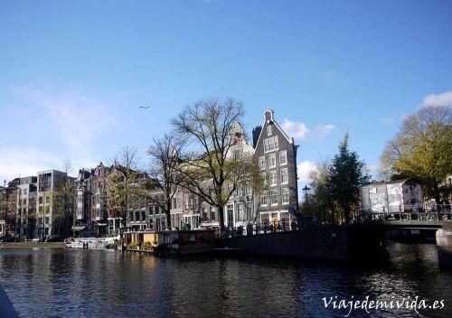 Canales Amsterdam Holanda