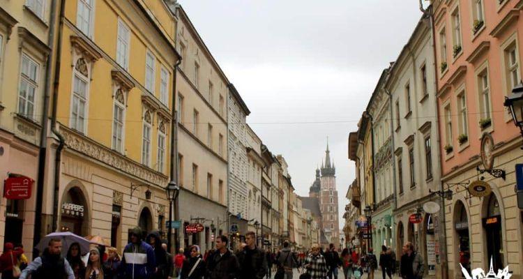 Calles Cracovia Polonia