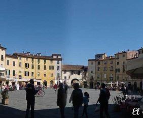 Piazza Anfiteatro Lucca 2 Toscana Italia