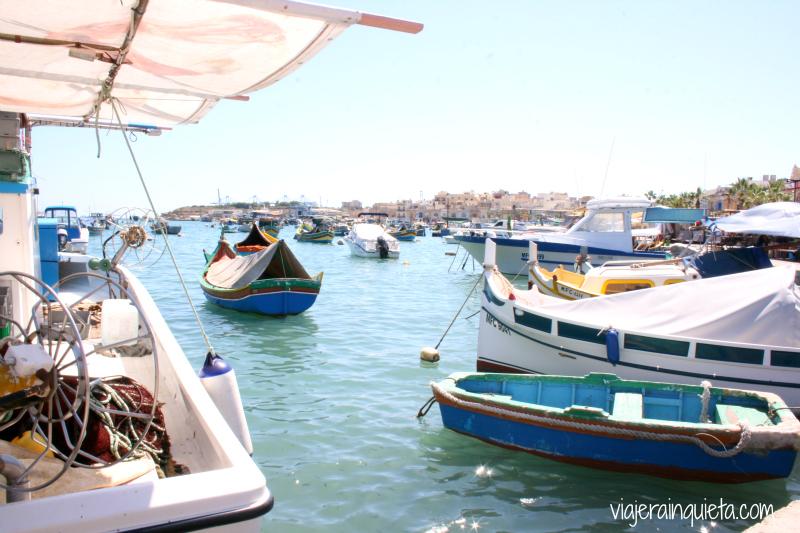 Barcos Puerto de Marsaxlokk