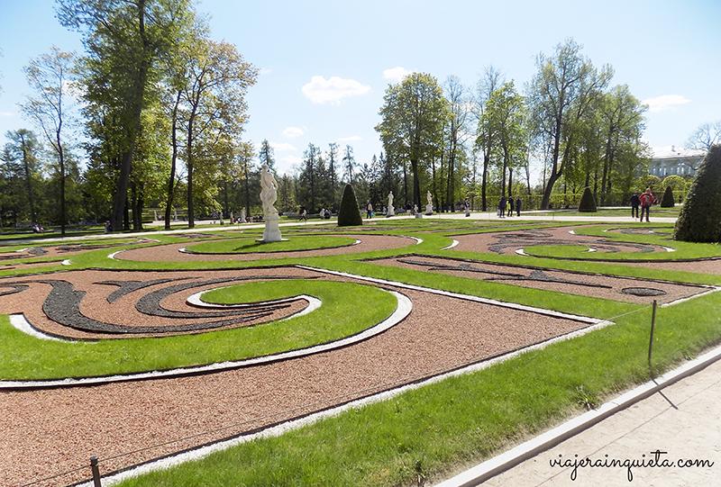 Palacio de verano Rusia