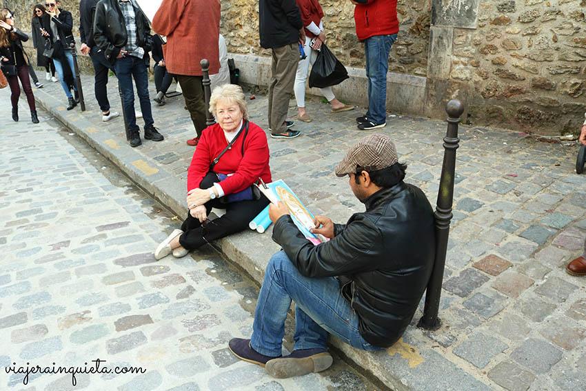 Pintores en Paris