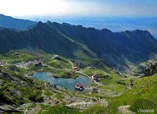 El lago Balea, qué ver en la carretera Transfagarasan