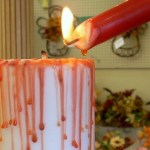 Halloween Crafts – How to Make a Bloody Pillar Candle
