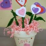 Valentine's Day Kids Craft: Love Blooms