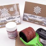 Stashing Through the Snow Card for MOvember