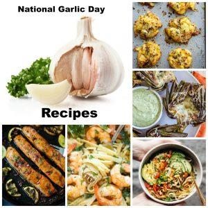 Garlic Day Recipes