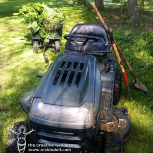 yard machines tractor