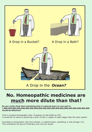 Homeopathy cartoon