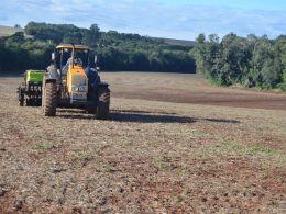 Secretaria de Agricultura atua no plantio de pastagens de inverno