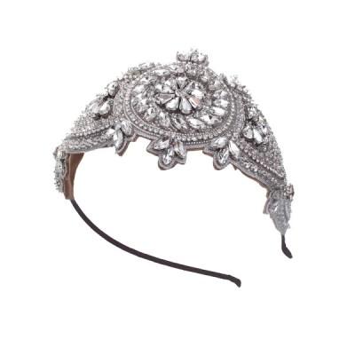 Celebration Rhinestone Bridal Cap No.8