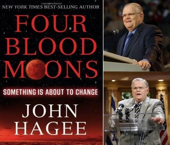 القسيس جون هاغي، وكتابه الذي يتحدث عن 4 كسوفات متتالية يصطبغ بها القمربلون دموي