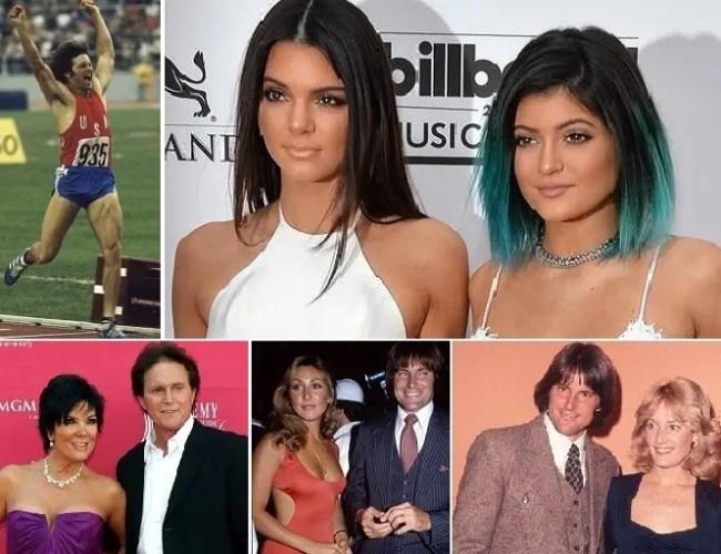 اللاعب الأولمبي تزوج 3 نساء، صورهن في الأسفل، وله من والدة كيم كارداشيان ابنتان، كاندال وكايلي