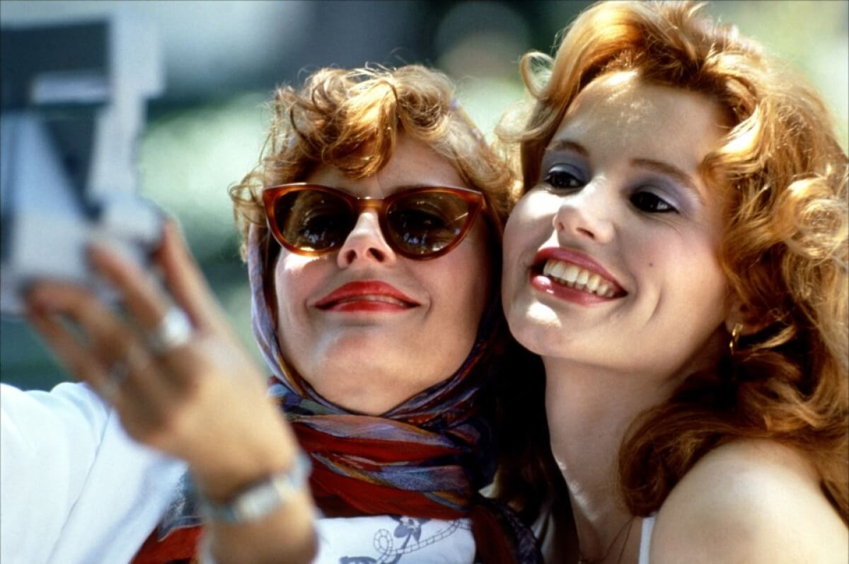 Charla de hotel: la escena de Thelma & Louise