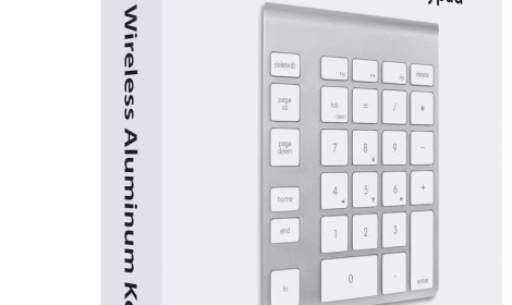 NewerTech Wireless Aluminum Keypad Box