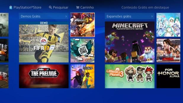 PS4 - demos