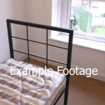 example bedroom footage