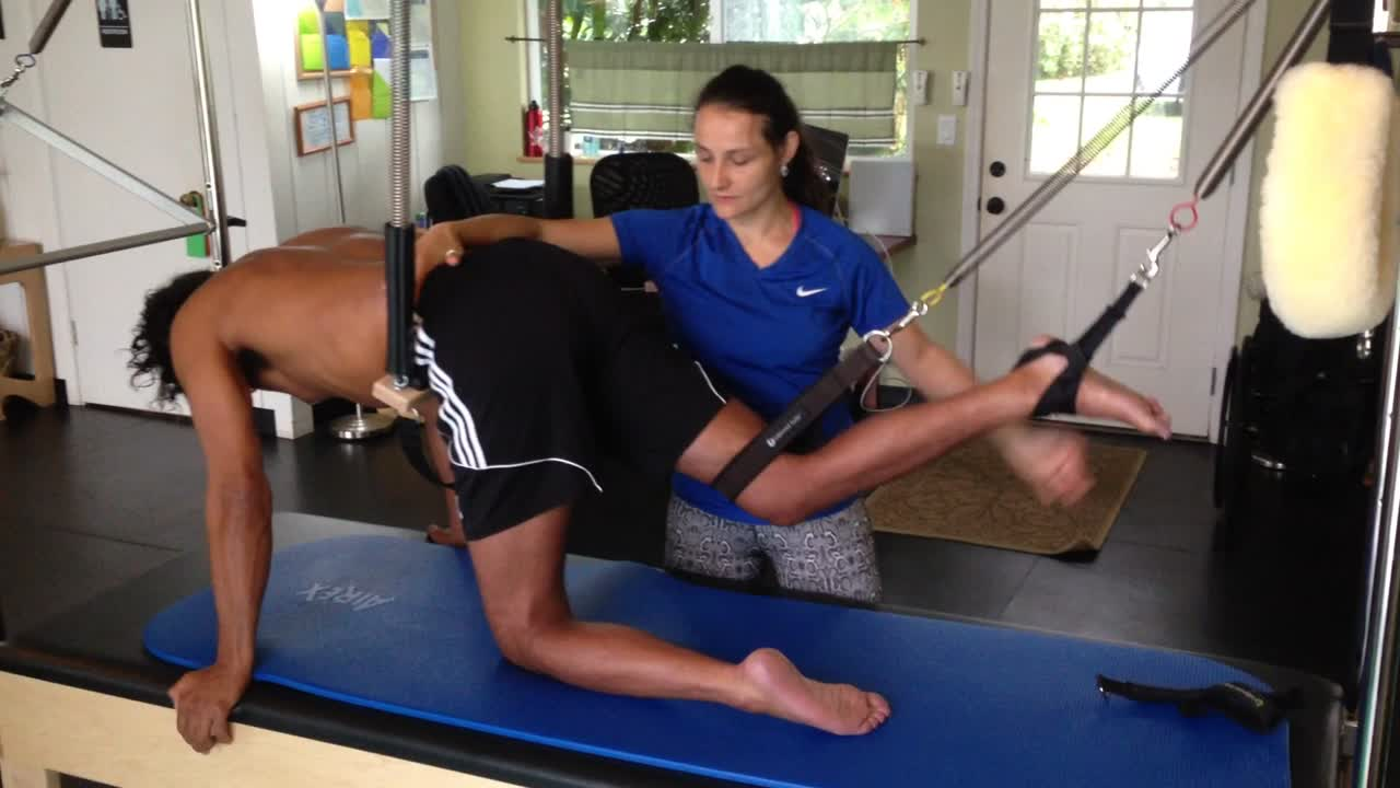 Quadruped flexion & extension