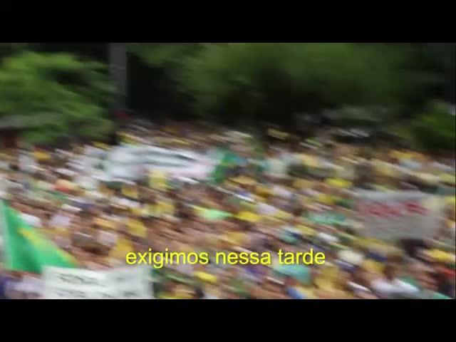 MAIOR MANIFESTAÇAO DA HISTORIA – OFICIAL – Movimento Brasil Livre