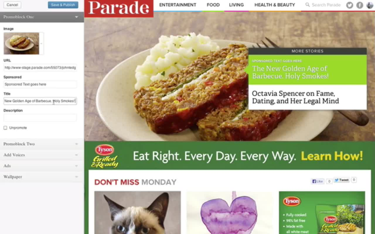 How Parade.com uses the WordPress Customizer