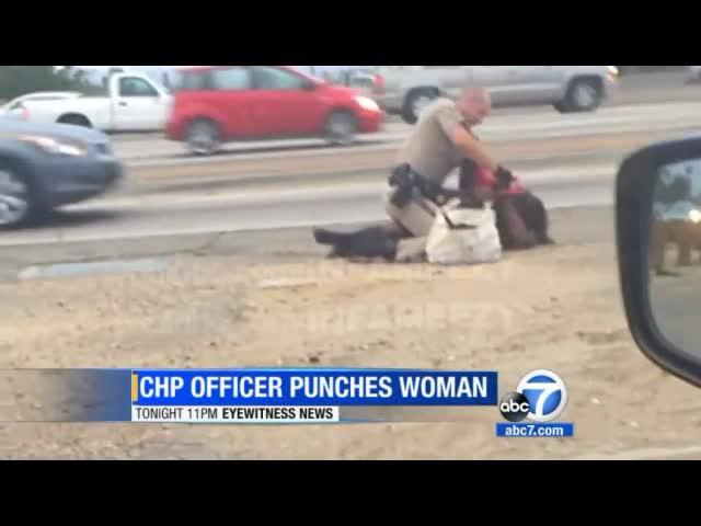 ABC7 |Marlene Mardella Pinnock Beaten By CHP Officer