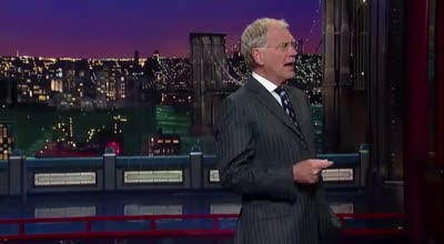 DAVID LETTERMAN – Monologue 05-04-12