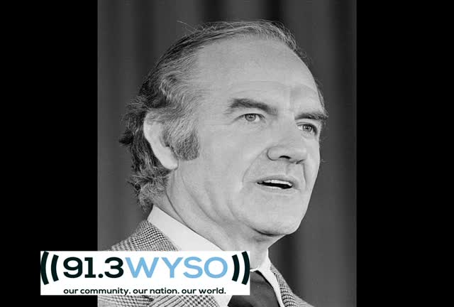 George McGovern Speaks in Dayton