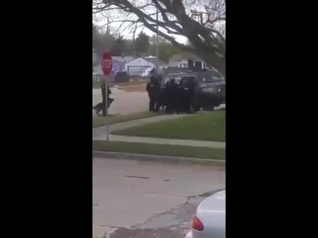 Racine SWAT Team Shoots Dog