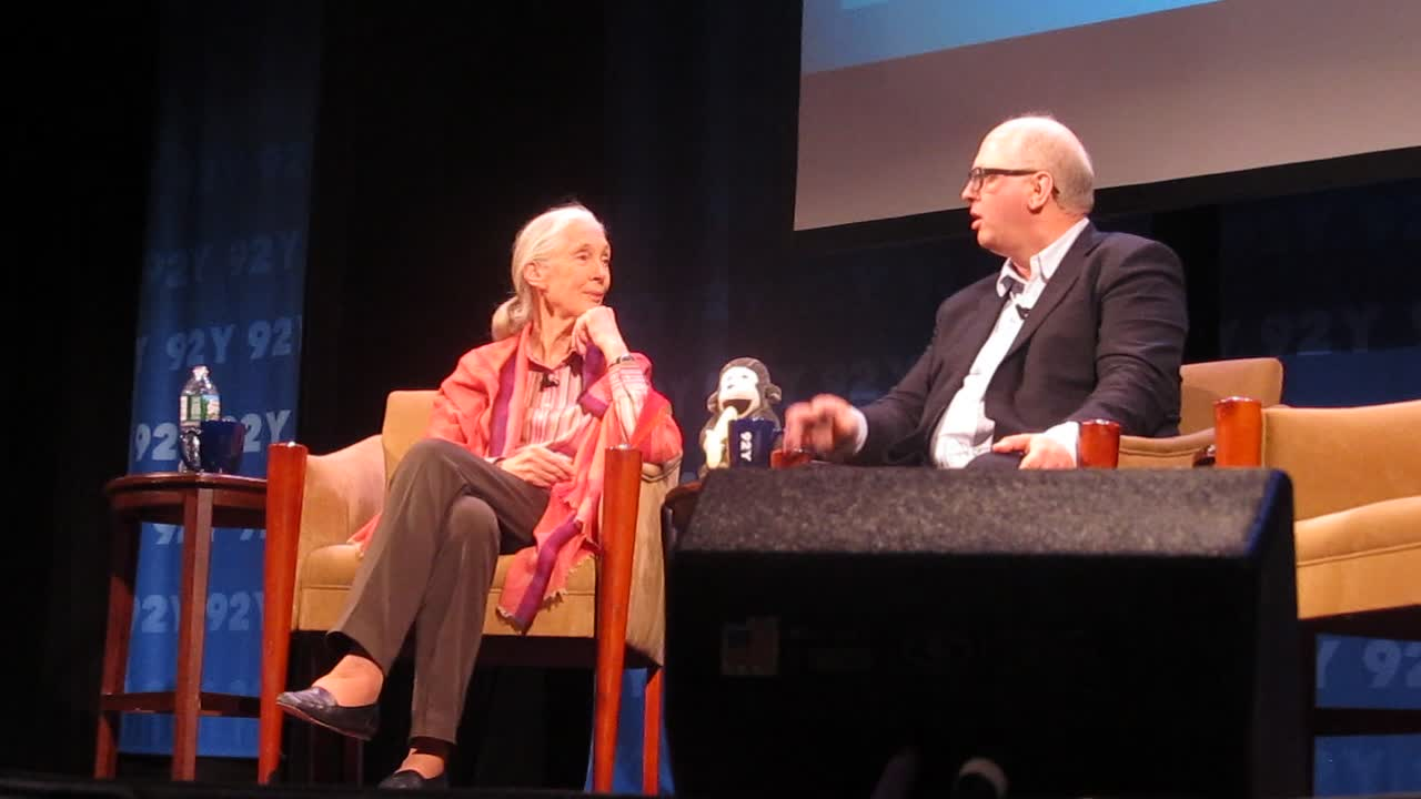 Jane Goodall Conversation with Matt Bishop