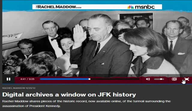 DIGITAL ARCHIVES A WINDOW ON JFK HISTORY