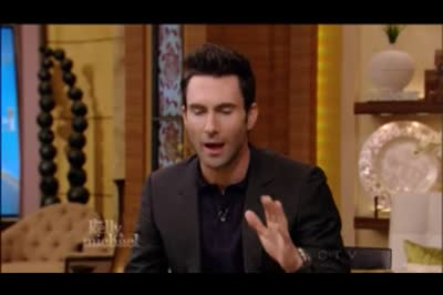 26 oct 2012 Adam Levine interview -Live with Kelly and Michael