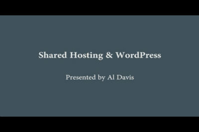 WC Toronto 2011 – Shared Hosting & WordPress
