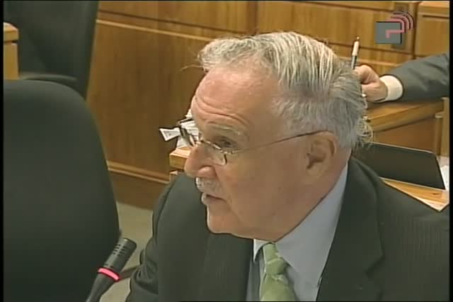 Colman Commission testimony: 9NOV2011