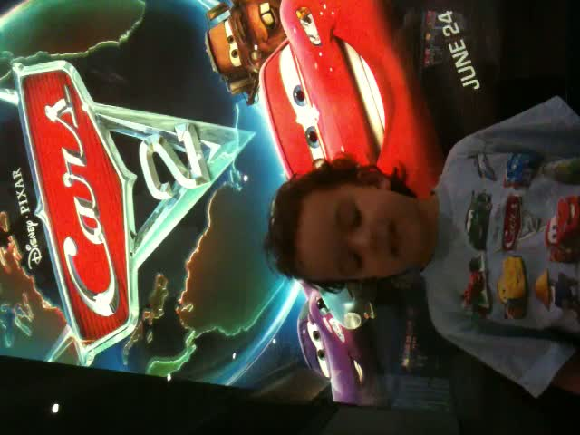 Four year old talks about Cars 2