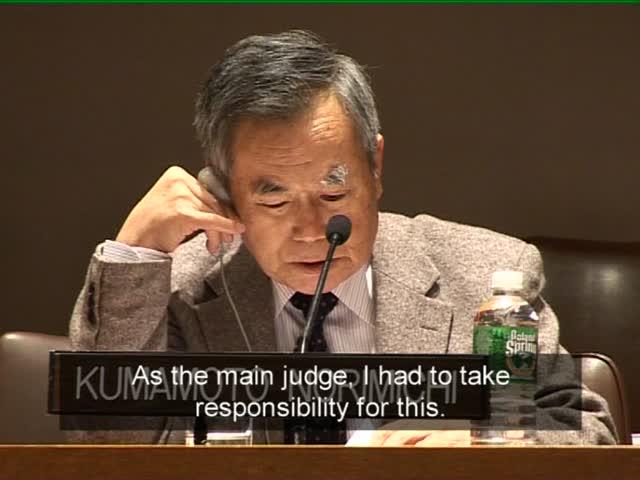 Kumamoto Norimichi Death Penalty Clip