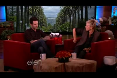 Adam Levine and Maroon 5 on Ellen Degeneres 12 November 2012