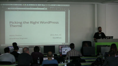 Mario Peshev: Choosing A WordPress Theme