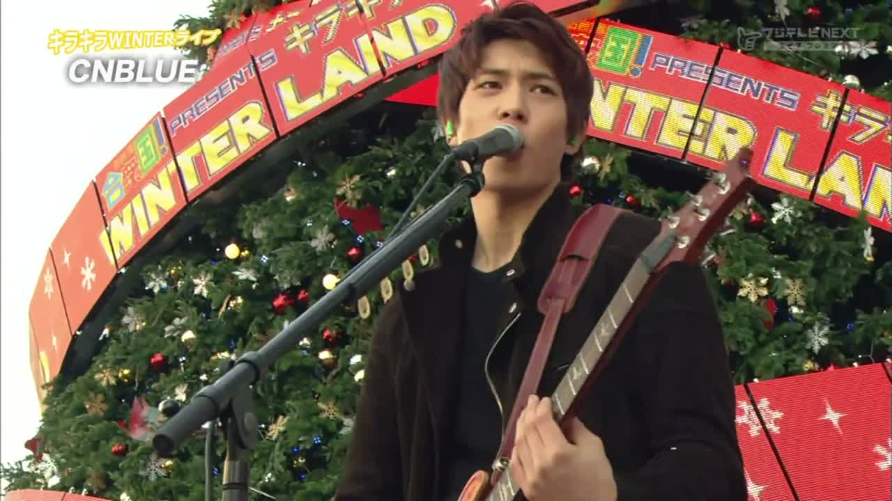 """Robot""  2012.12.25 키라키라 윈터 라이브 Kirakira Winter Live 작사 (Lyrics) : 정용화 Jung Yong Hwa, Japanese Translated Lyrics by KOSUKE OBA 작곡 (Music) : 정용화 Jung Yong Hwa, KOSUKE OBA"