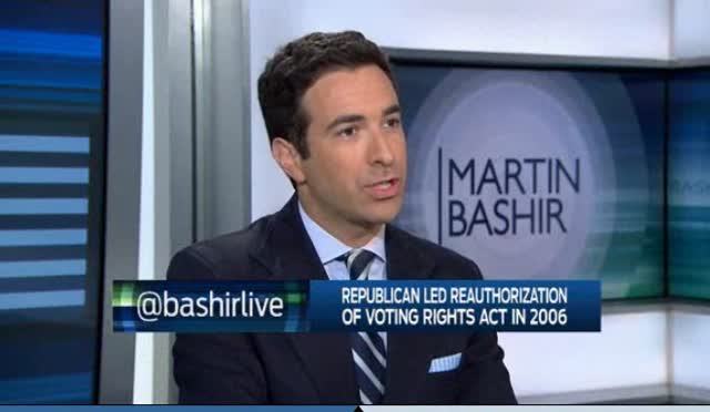Ari Melber Updates Conversation on Voting Rights