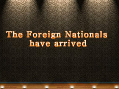 Foreign Nationals Hit the Road