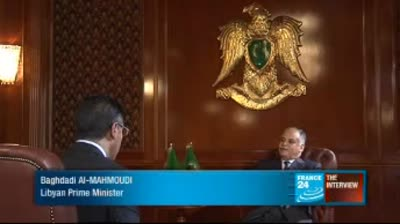 Interview With Libyan Prime Minister al-Mahmoud