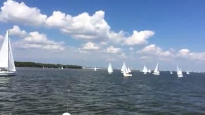 Team Tartan on the Water