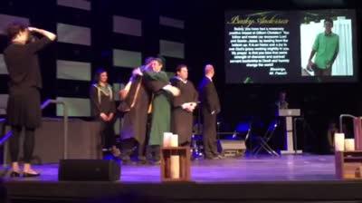 2015-Bailey graduates!