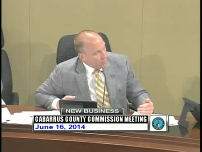 Cabarrus County Commissioners Mtg 06.16.2014(wmv)