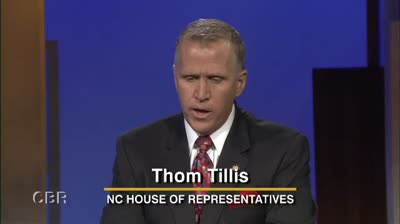 Thom Tillis &#8211; NC Speaker, House ofRepresentatives